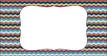 Editable Teacher Toolbox Labels - Comfort