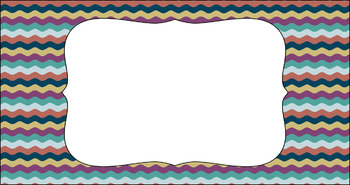 Editable Teacher Toolbox Labels - Multi-Color Collection: Comfort