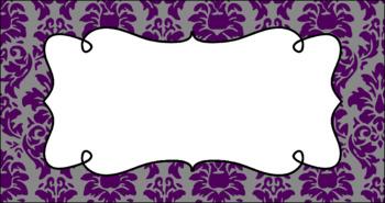 Editable Teacher Toolbox Labels - Elegant