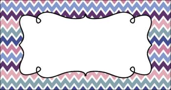 Editable Teacher Toolbox Labels - Fairy Tale