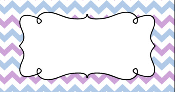 Editable Teacher Toolbox Labels - Frostbite
