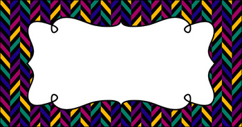 Editable Teacher Toolbox Labels - Jewel