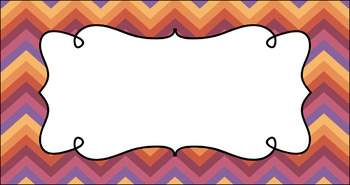 Editable Teacher Toolbox Labels - Multi-Color Collection: Canyon