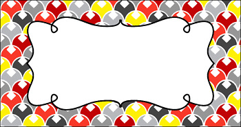 Editable Teacher Toolbox Labels - Racecar
