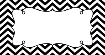 Editable Teacher Toolbox Labels - Essentials & White: Black and White