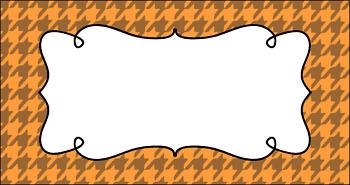 Editable Teacher Toolbox Labels - Pumpkin Patch