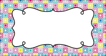 Editable Teacher Toolbox Labels - Refresh