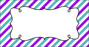 Editable Teacher Toolbox Labels - Summer Fun