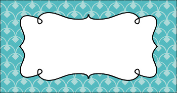 Editable Teacher Toolbox Labels - Summer Sky