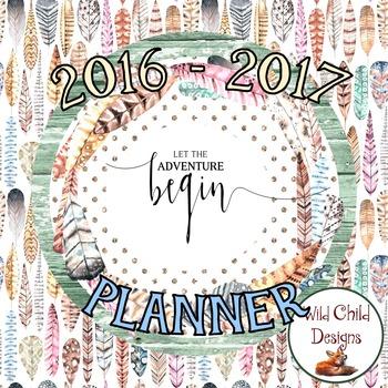 Editable Teacher's Binder/Planner: Birds of a Feather Themed