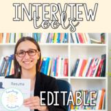 Editable Teaching Interview Portfolio and Resume Toolkit