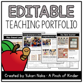 Editable Teaching Portfolio