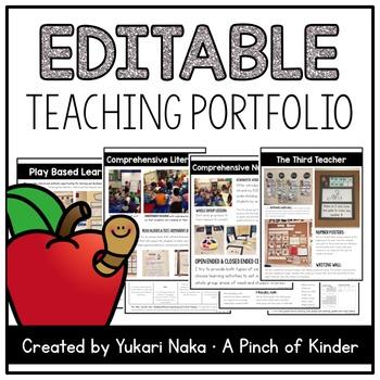 Editable Teaching Portfolio