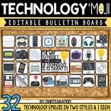 Bulletin Board: Editable Technology Decor