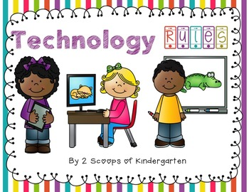 Editable Technology Rules for your Classroom (ipads, computers, add your own))