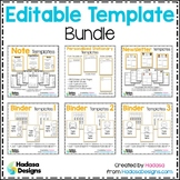 Editable Template BUNDLE - Hadasa's Kids Edition