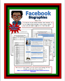 Black History Month Facebook Biographies (Editable Template: With Links)