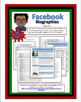 facebook templates editable teaching resources teachers pay teachers