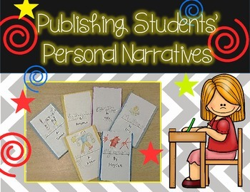 Editable Template for Publishing Student Books