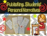 Editable Template for Publishing Student Books