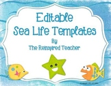 Editable Templates (Sea Life Theme)
