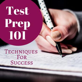 Editable Test Prep 101
