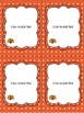Editable Thanksgiving Labels (4 sizes and 6 different designs)