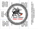 Editable Theme Interactive Journal Foldable