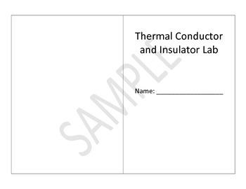 Editable Thermal Conductor/Insulator Lab