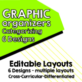 Editable -Maps for Thinking Categorizing Map 6 designs