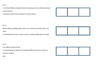 Editable Third Grade Common Core  interactive student graphs