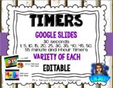 Editable Timers for Google Slides