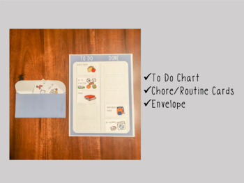 Editable | To Do List DIY Kit | Chore and Routine Chart for kids