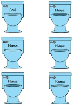 Editable Toilet Passes