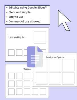 Editable Token Board - Microsoft Power Point - ABA Therapy - by AllDayABA