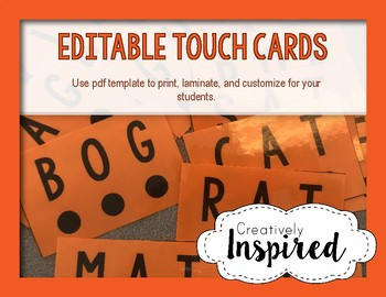 Editable Touch and Point Cards