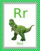 Editable Toy Story Classroom Alphabet