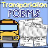 Editable Transportation Forms
