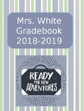Editable Travel / Adventure Theme Gradebook