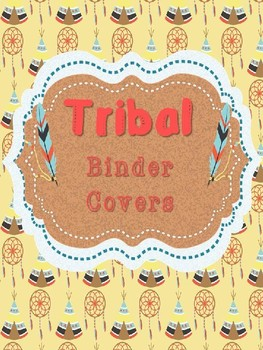 Editable Tribal Binder Covers