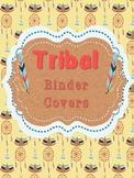 Editable Tribal Binder Covers