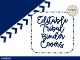 Editable Tribal Binder Covers and Stem Labels