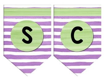 Tropical Classroom Banners - Editable