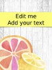 Editable Tropical Teacher Binder Pages