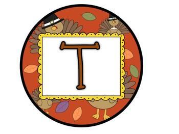 Editable Turkeytastic Writing