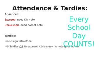 Editable Turquoise Back to School Night PowerPoint