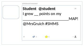 editable twitter template teaching resources teachers pay teachers