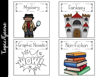 Editable Upper Level Library Labels