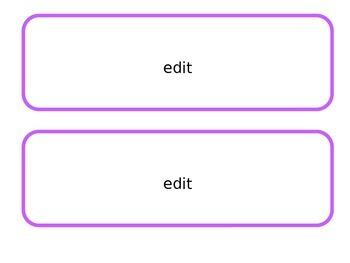 Editable VOICES Board Cards