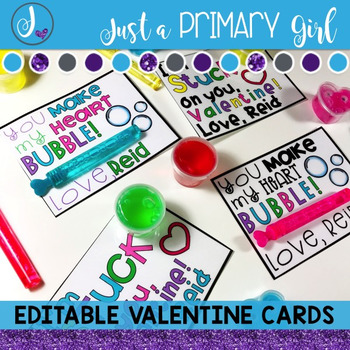 Editable Valentine Cards